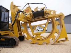 Wheel Trencher | Wolfe Man 8000